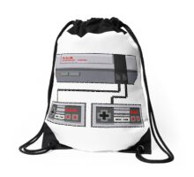 NES Pixel Art  Drawstring Bag