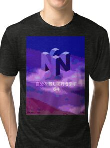 THE MYSTERIOUS N I N T E N D O  6  4 Tri-blend T-Shirt