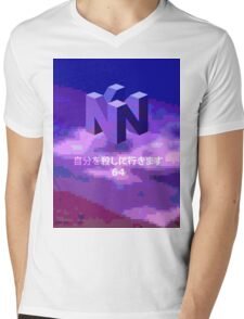 THE MYSTERIOUS N I N T E N D O  6  4 Mens V-Neck T-Shirt