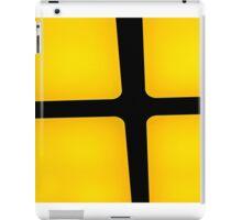 rubix in yellow iPad Case/Skin
