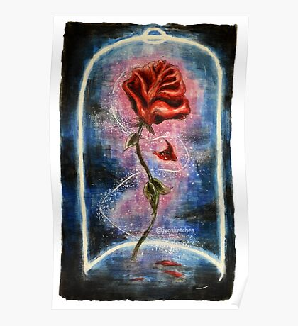 Magical Rose Poster