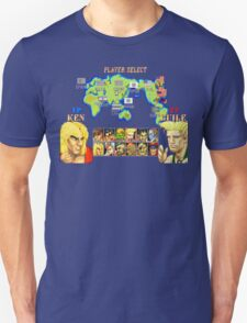 Streetfighter 2 Ken vs Guile T-Shirt