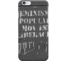 Feminismo Popular Est Liberacion - La Plata, Argentina iPhone Case/Skin