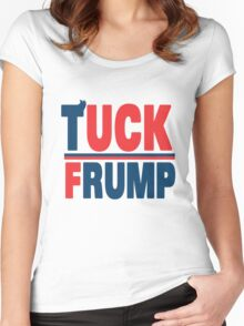 Tuck Frump Women's Fitted Scoop T-Shirt