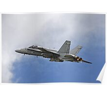 Finnish Air Force F/A-18C Hornet Poster