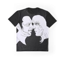 Barratt and Fielding line art Graphic T-Shirt