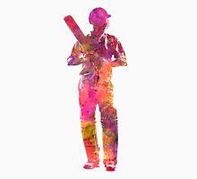 Cricket player batsman silhouette 10 Unisex T-Shirt