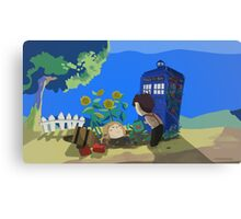 Doctor Who - Companion Planting Canvas Print