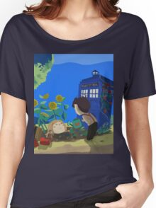 Doctor Who - Companion Planting Women's Relaxed Fit T-Shirt