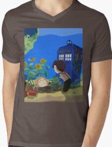 Doctor Who - Companion Planting Mens V-Neck T-Shirt