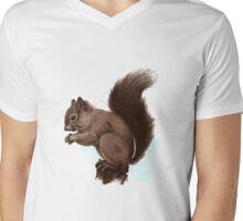 Squirrel.  Mens V-Neck T-Shirt