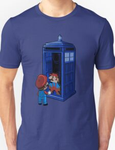 Mario Who Shirt - Dr Who T-Shirt