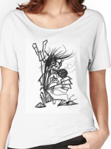 rock on Women's Relaxed Fit T-Shirt