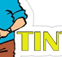 tintin Sticker