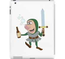 Drunken RPG Knight! iPad Case/Skin