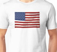 USA flag, block colour design (United States of America) Unisex T-Shirt
