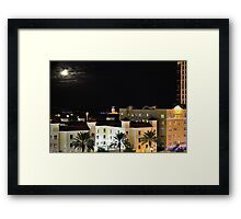 Full Moon Over St Petersburg 001 Framed Print