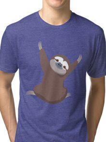 Baby Sloth Tri-blend T-Shirt