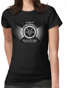 College of winterhold Womens Fitted T-Shirt