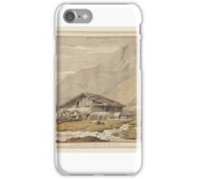 William Pars A View near Cluse in Savoy iPhone Case/Skin