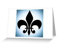 Fleur De Lis. Greeting Card
