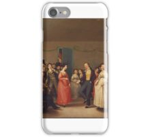 William Sidney Mount, Rustic Dance After a Sleigh Ride iPhone Case/Skin