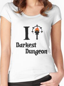 Darkest Dungeon Love Women's Fitted Scoop T-Shirt