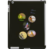 Bird lover iPad Case/Skin