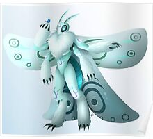 Moth creature Poster