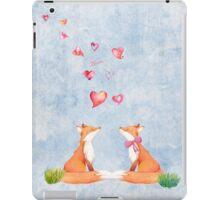 Fox love iPad Case/Skin