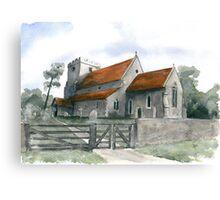 St. Andrews, Beddingham Canvas Print