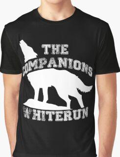 The companions of Whiterun - White Graphic T-Shirt