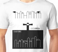 Rapture and Columbia with names Unisex T-Shirt