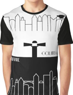 Rapture and Columbia with names Graphic T-Shirt