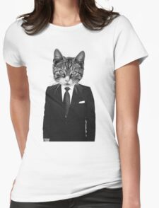 Meow - ONE:Print Womens Fitted T-Shirt