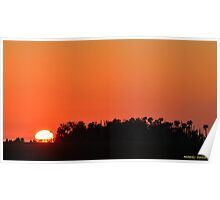 Brilliant Sunset Poster