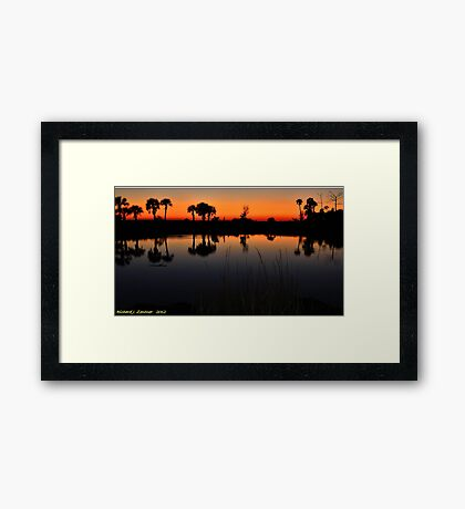 Colorful Reflections Framed Print