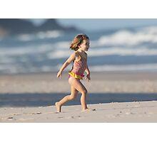 Girl On A Beach Photographic Print