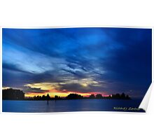 Colorful Sunset Poster