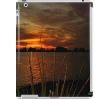 Fiery Christmas Sunset iPad Case/Skin