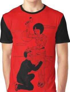 Toshio Saeki art Red shirt  Graphic T-Shirt