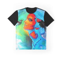 """""""Hot and Cold"""" Graphic T-Shirt"""