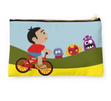 Riding A Bike Studio Pouch