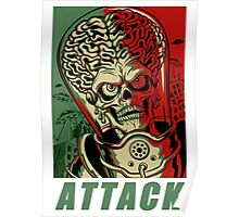 Attack Space Poster