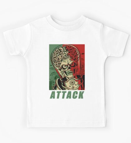 Attack Space Kids Tee