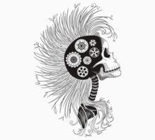 Eco Skull Kids Tee