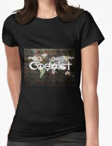 u2 coexist Womens Fitted T-Shirt