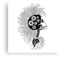 Eco Skull Canvas Print