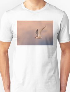 Common Tern with fish Unisex T-Shirt