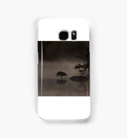 Black-crowned Night heron Samsung Galaxy Case/Skin